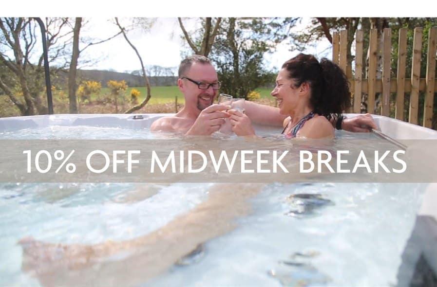 10% Off Midweek Breaks At Burnbake