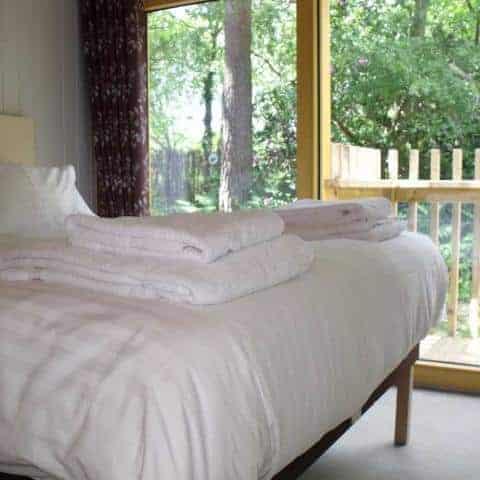 Burnbake Forest Lodges Bedroom