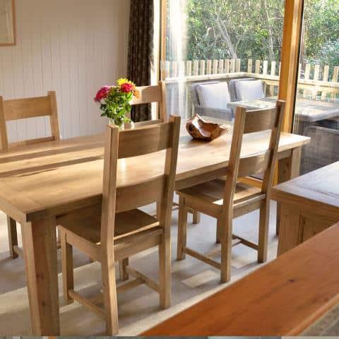 Burnbake Forest Lodges Diningroom 0