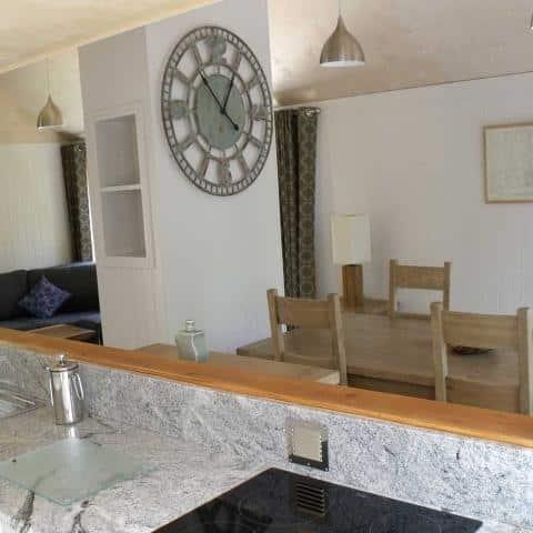 Burnbake Forest Lodges Kitchen 1