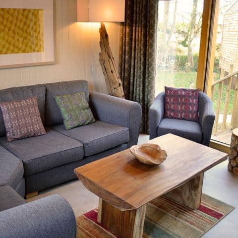 Burnbake Forest Lodges Sitting Room 0