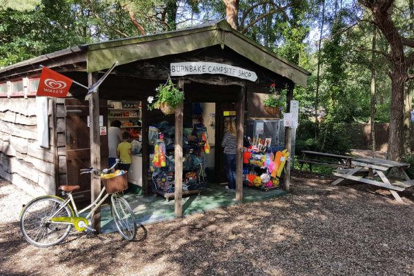 Burnbake Campsite Shop