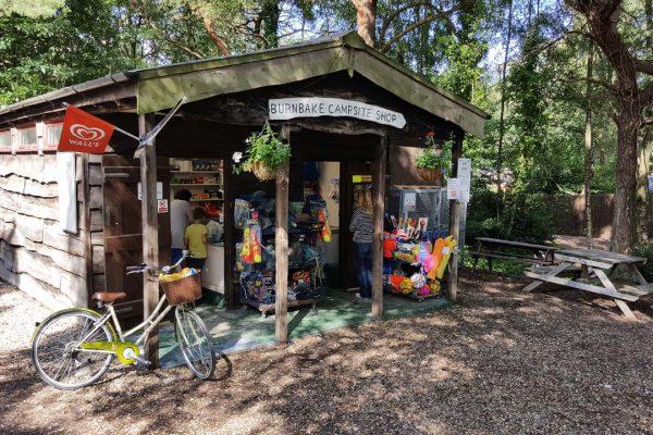 Burnbake Campsite Shop
