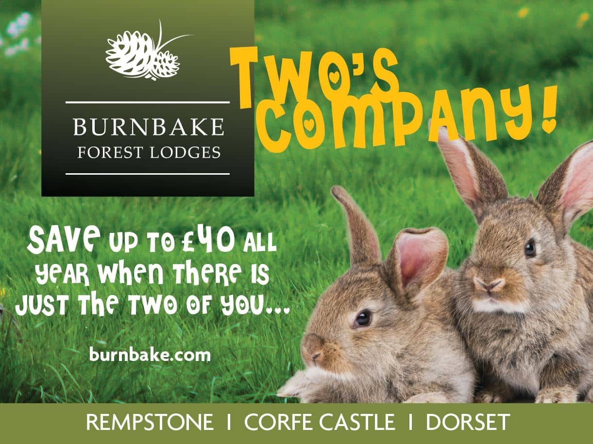 Two's company - Save £40 per week or £20 per short break at any time of year if there is just the two of you