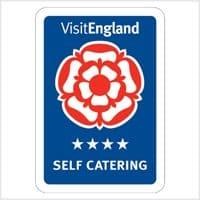 Burnbake Forest Lodges Visit England 4-star Self Catering Award