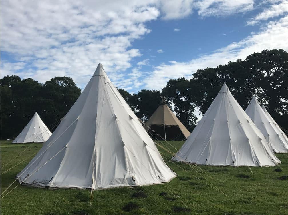 Cleavel Tented Village at Burnbake Dorset