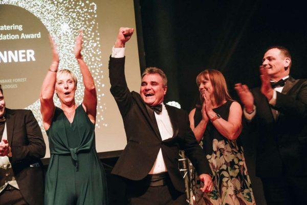 Burnbake Forest Lodges Dorset win Self-Catering Accommodation Award