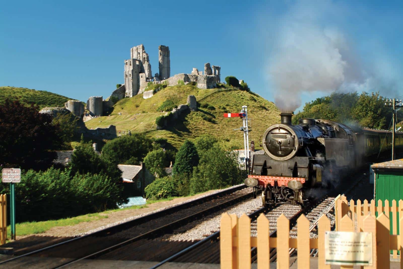 Corfe Castle and Swanage Railway