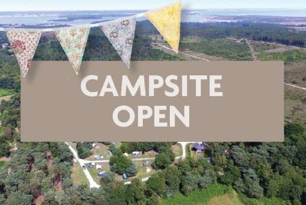 Burnbake Campsite Open