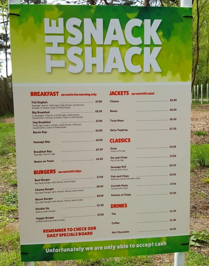 Snack Shack Burnbake Dorset