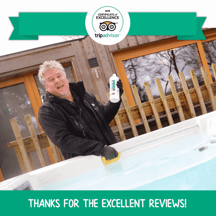 We have earned a TripAdvisor 2018 Certificate of Excellence!