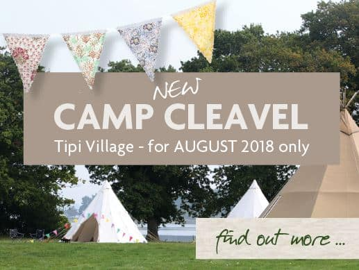 Camp Cleavel Tipi Village - August Only