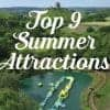 Top 9 family attractions to enjoy whilst staying at Burnbake Forest Lodges