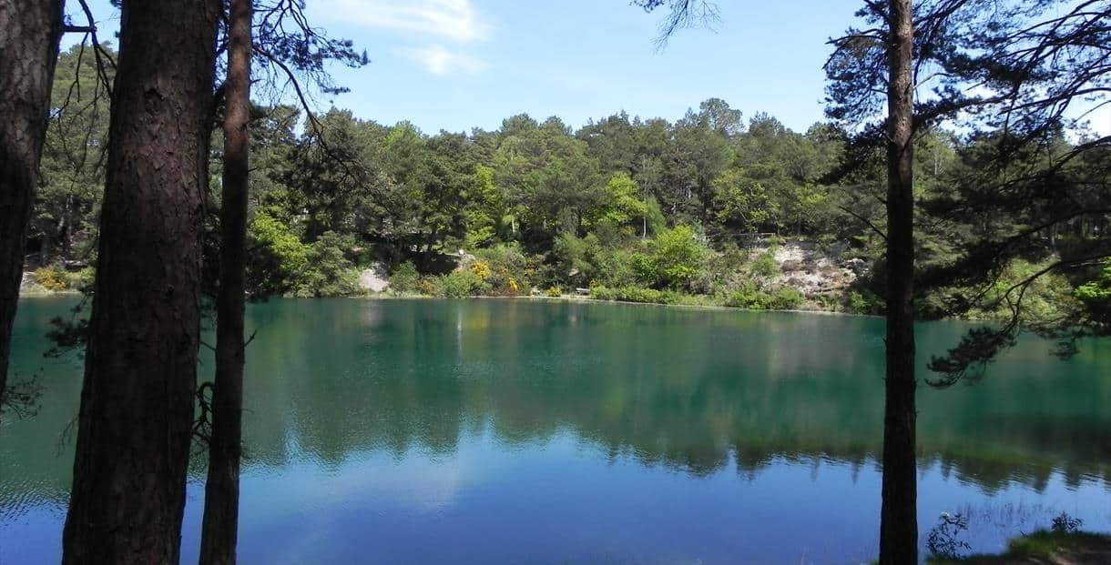 The Blue Pool: A unique attraction and a magical place of peace and tranquillity.