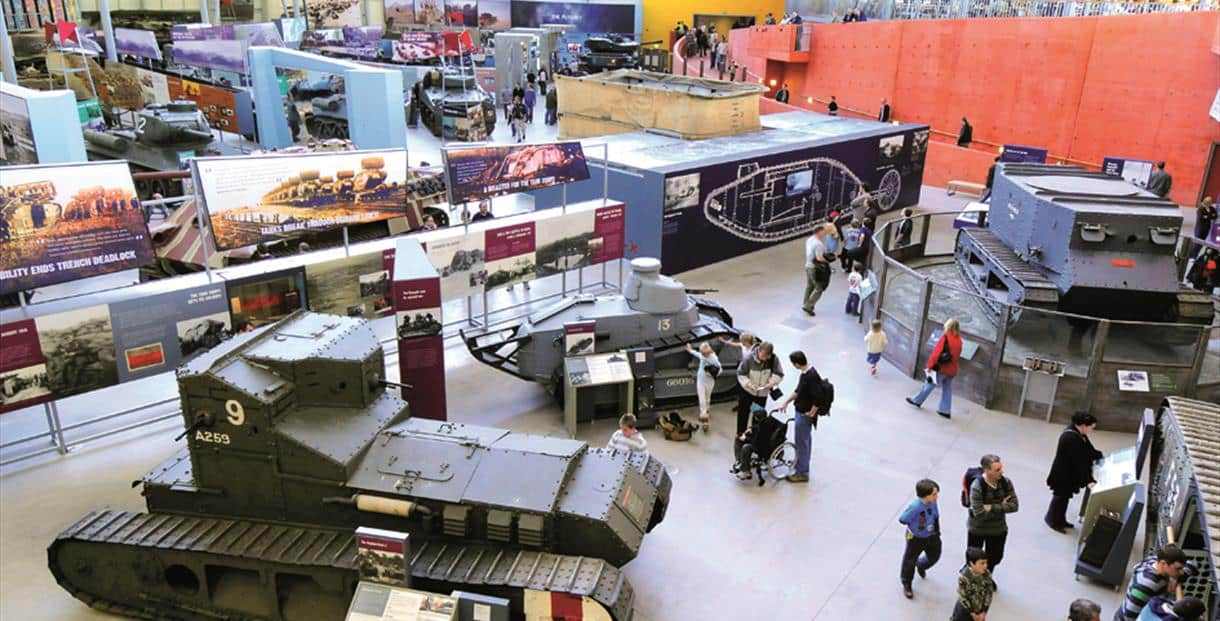 Tank Museum: The Tank Museum brings history to life with humbling exhibitions and action packed live displays.