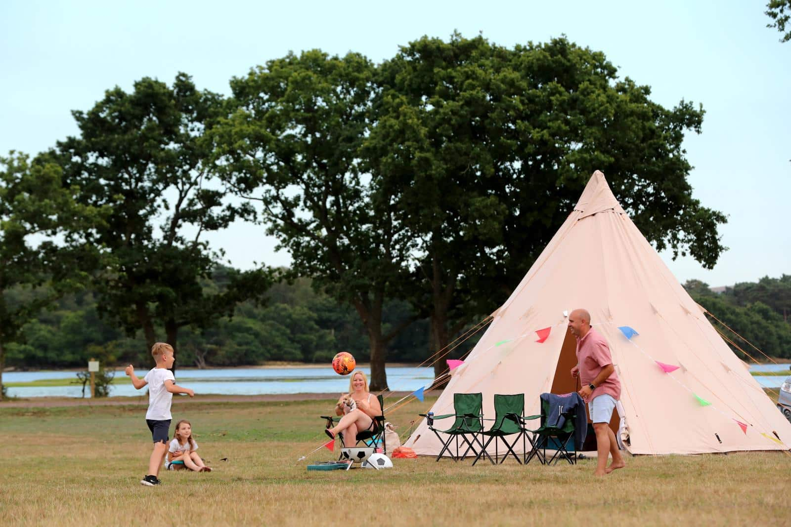 Camp Cleavel Tipi Village