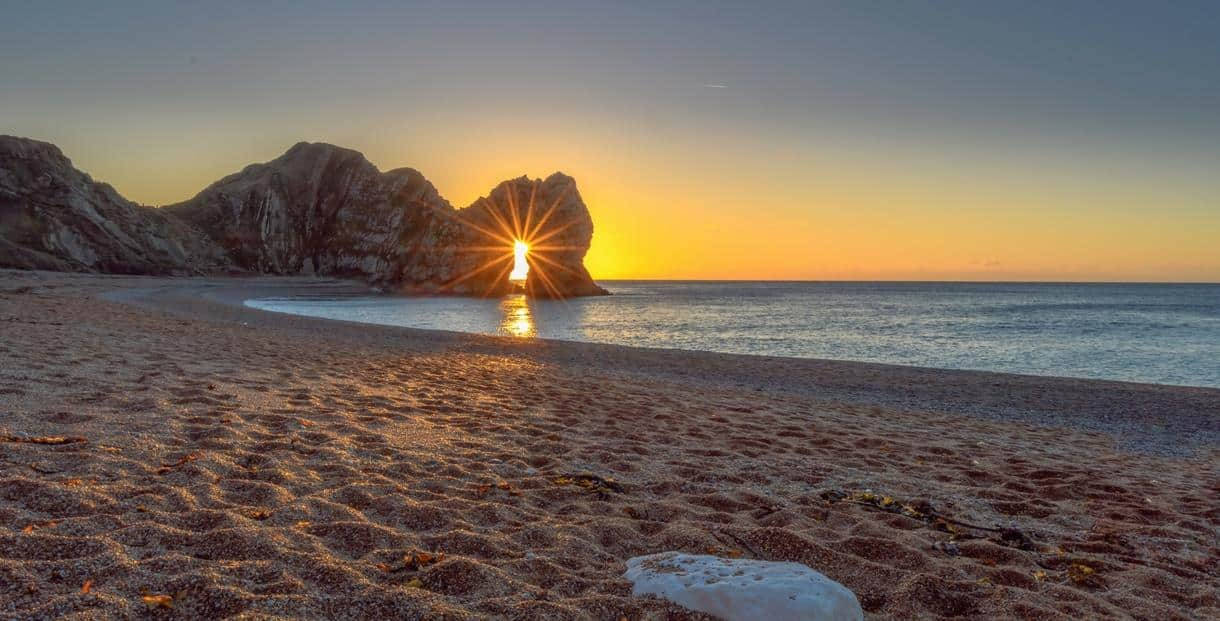 6 of the best beaches near Burnbake Forest Lodges - Durdle Door