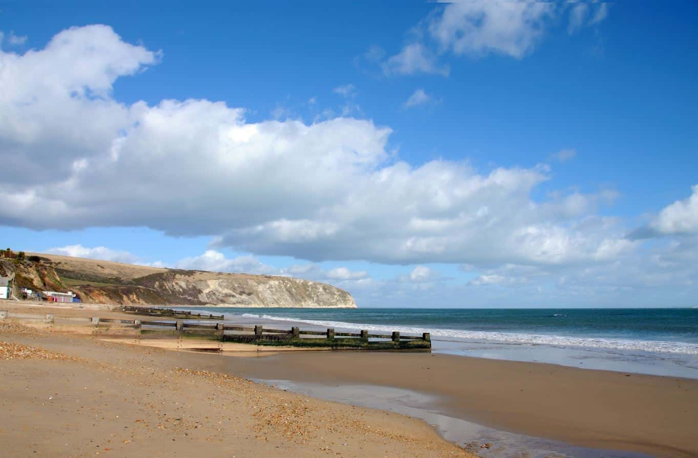 6 of the best beaches near Burnbake Forest Lodges - Swanage