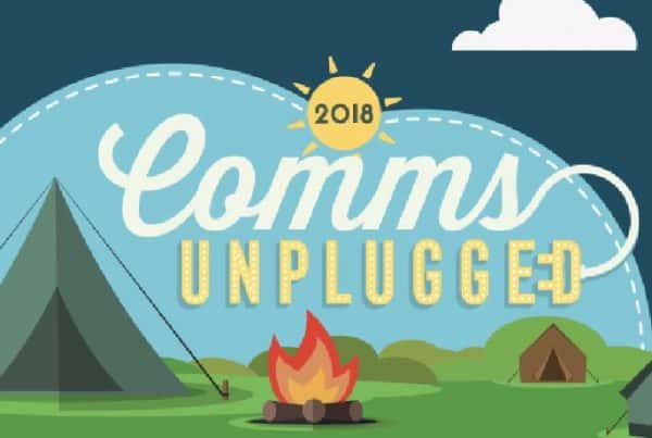 Comms Unplugged is a unique learning and development event