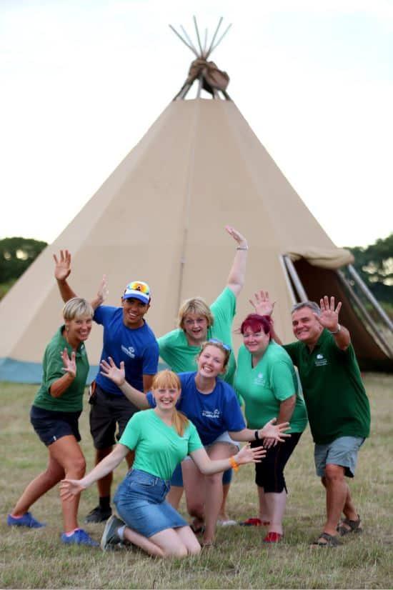 Camp Cleavel Tented Village Burnbake