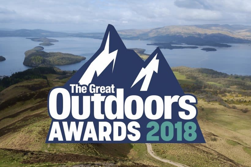 Burnbake shortlisted for The Great Outdoors 2018 Awards for Campsite of the Year!