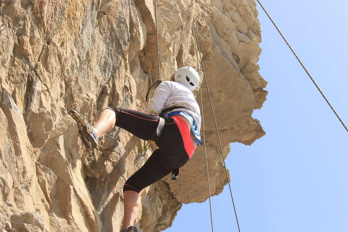 The cliffs of Swanage and the old quarries of Purbeck are renowned as climbing areas of the highest calibre.