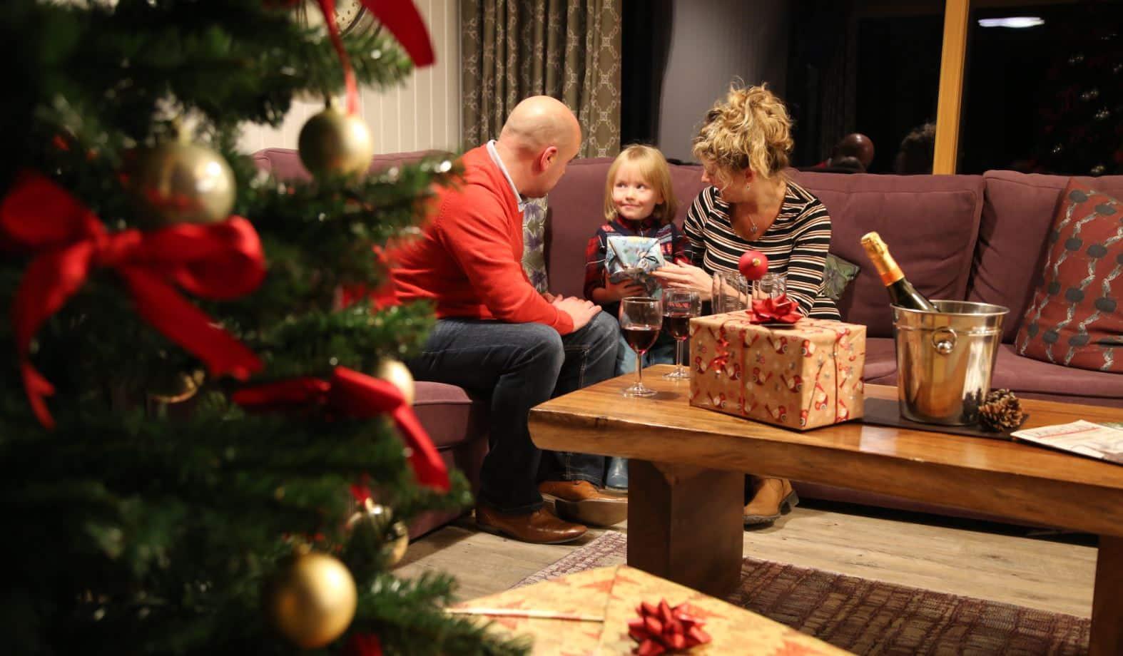 Christmas holidays at Burnbake Forest Lodges in Dorset