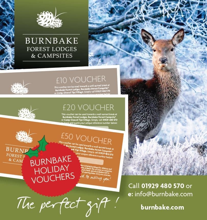 Give the gift of Burnbake this Christmas and let them choose when to go!