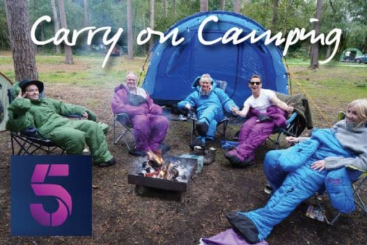 Celebrity 5 Go Camping - Travelogue series following five UK celebs as they camp in Dorset