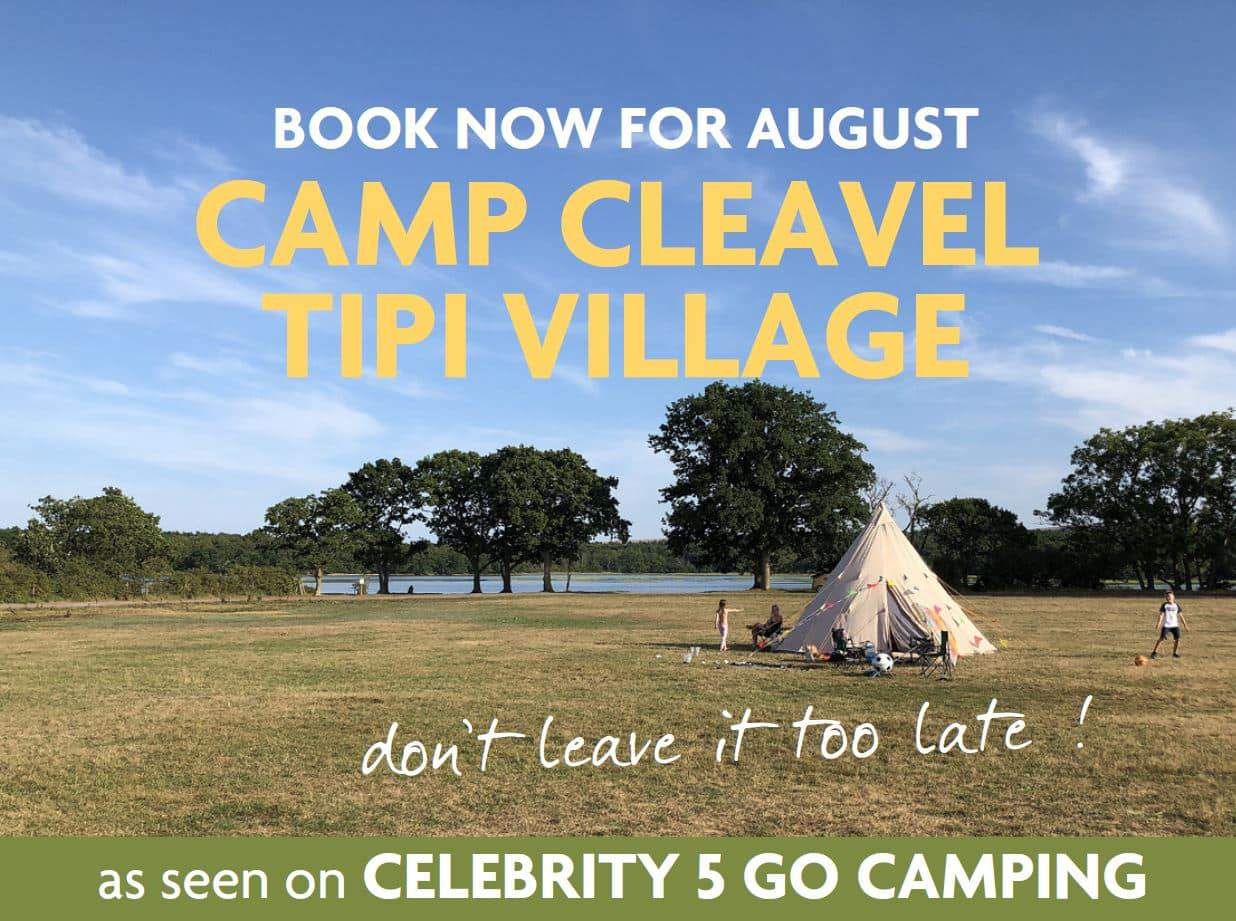 Cleavel Tented Village at Burnbake Dorset