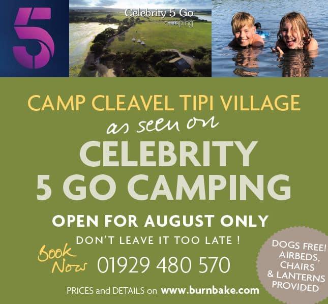 Camp Cleavel Tipi Village