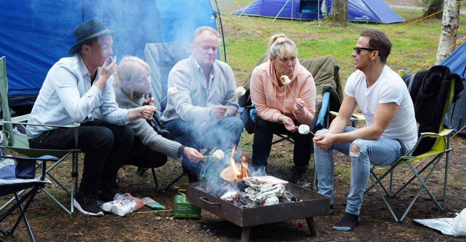 Celebrity 5 Go Camping – Channel 5