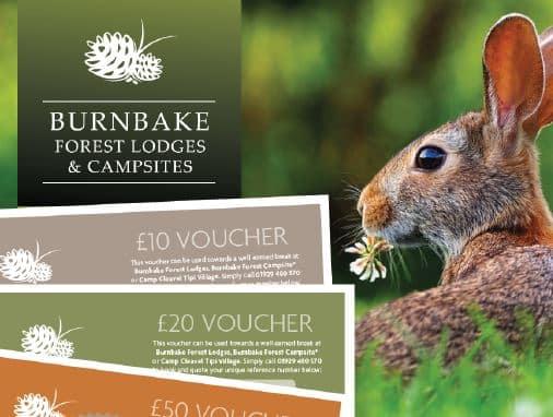Our holiday vouchers let you treat yourself, friends or family members to an unforgettable lodge or camping experience, without committing to a date and time - Call 01929 480 570