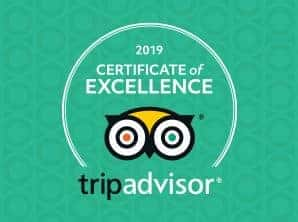Burnbake Campsite and Forest Lodges has been recognised with a 2019 Certificate of Excellence
