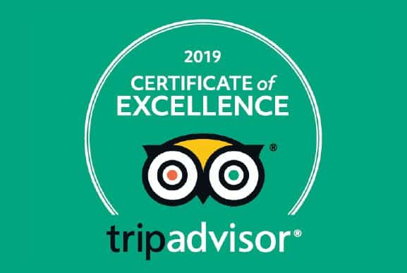 Image result for tripadvisor 2019 certificate of excellence