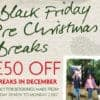 Black Friday Pre-Christmas Breaks 2019