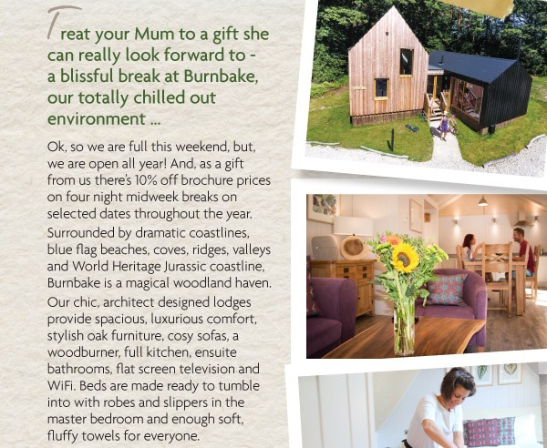 Treat Mum to a gift she can really look forward to this MothersDay